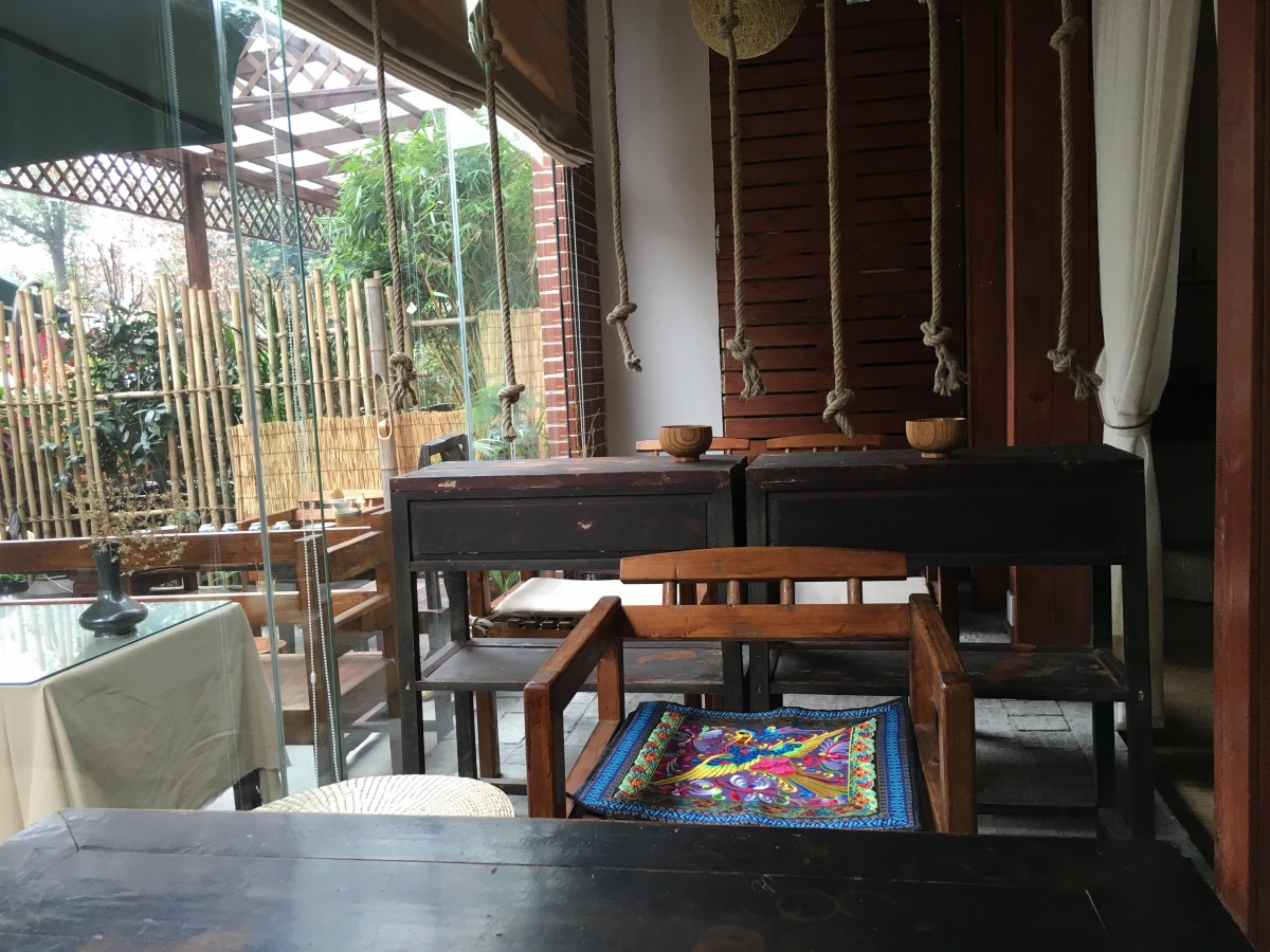 饭馆里的茶间