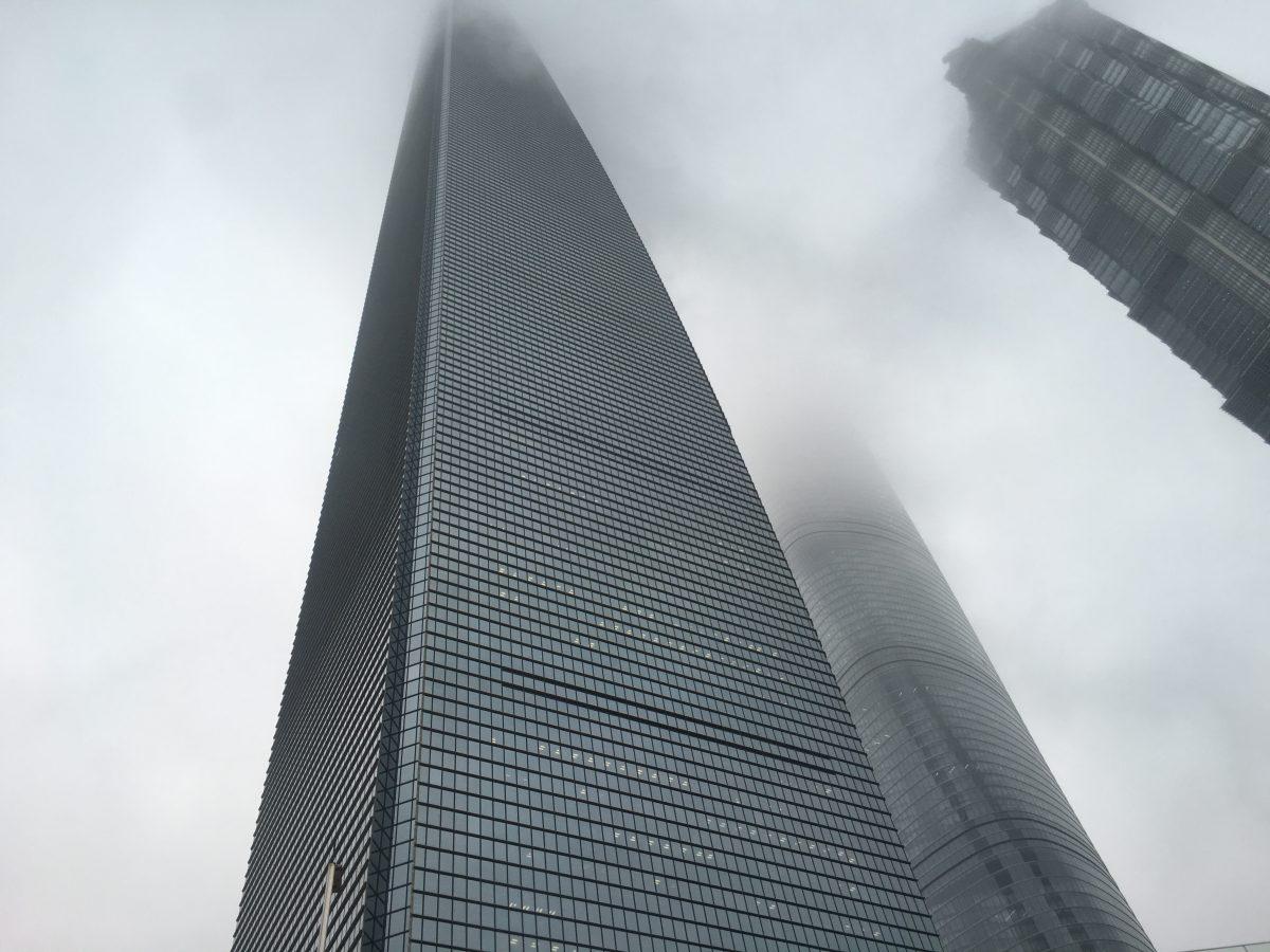 为什么这三栋大楼会靠的这么近!