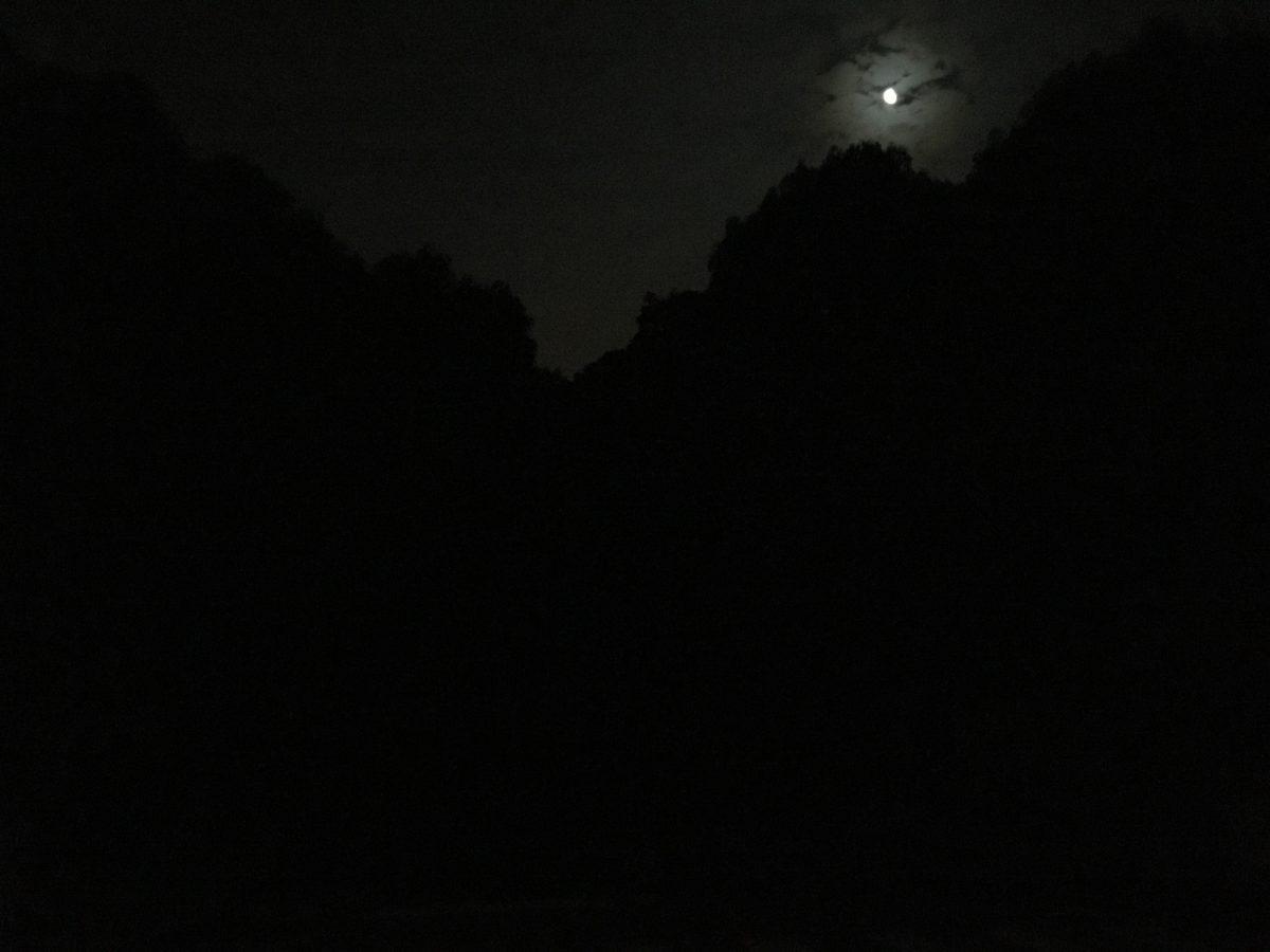 午夜的月亮