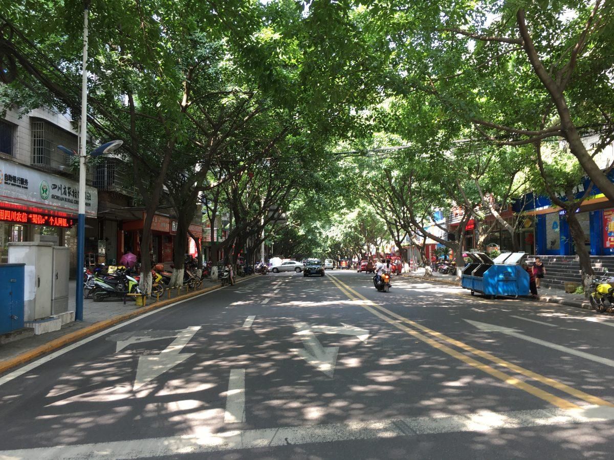 隆昌县城道路