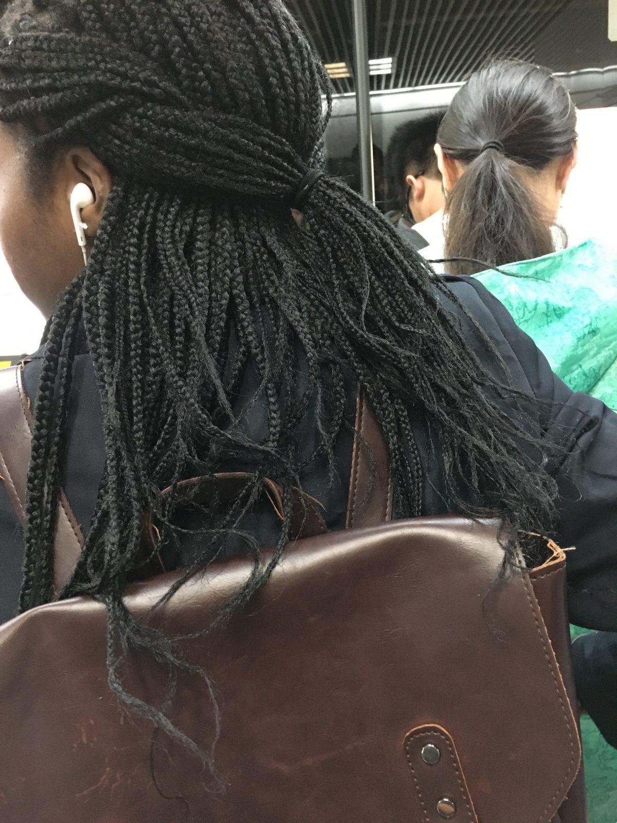 黑人小辫子