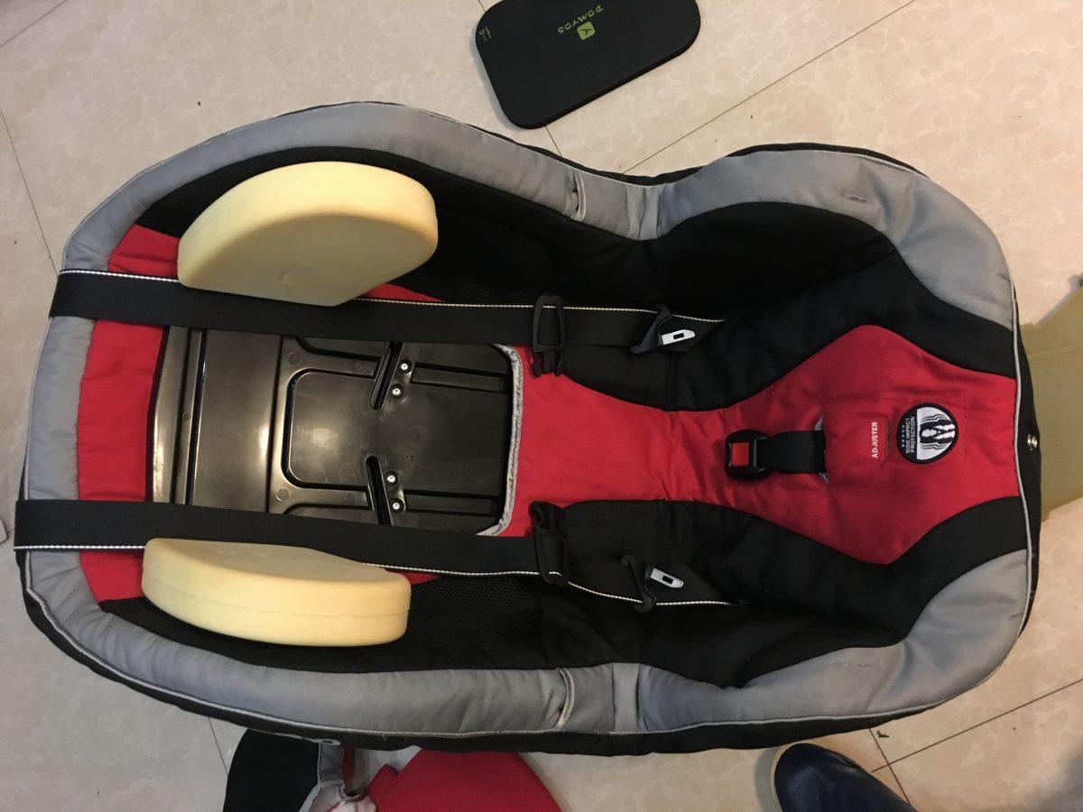 RECARO 儿童安全座椅拆解