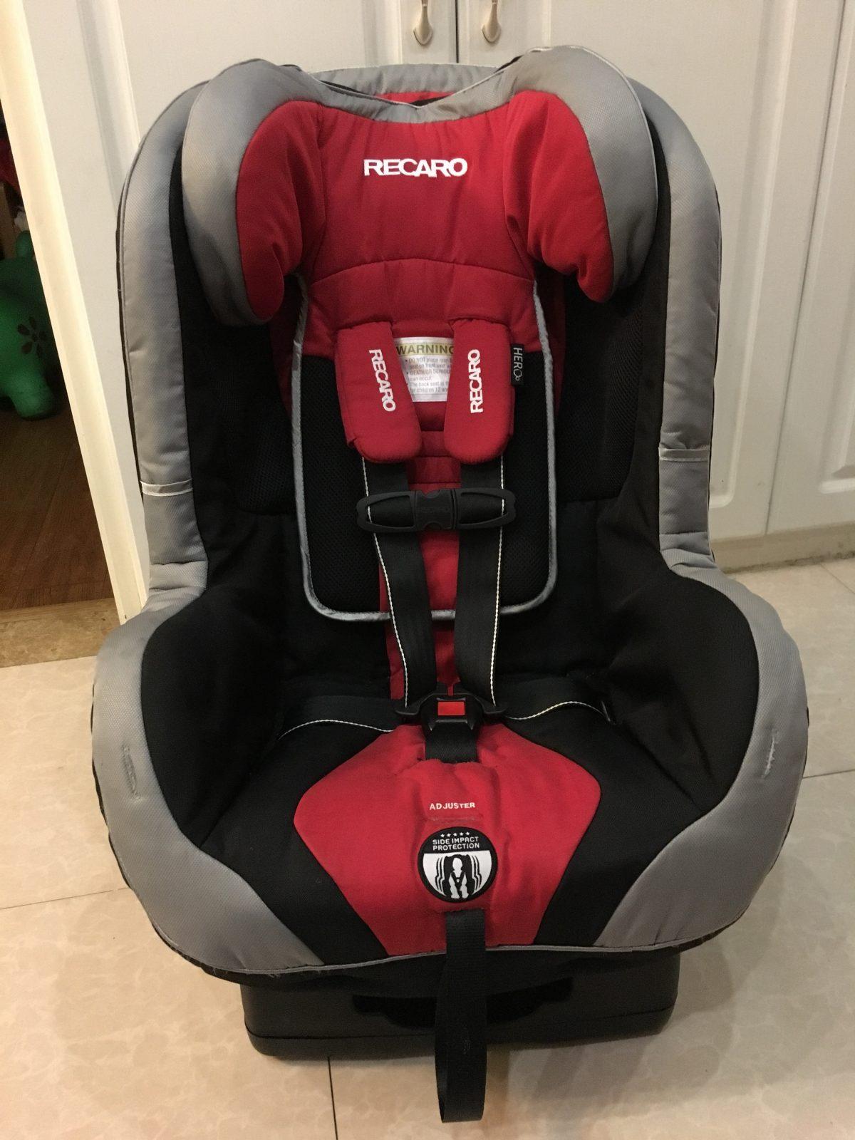 RECARO 儿童安全座椅拆解安装
