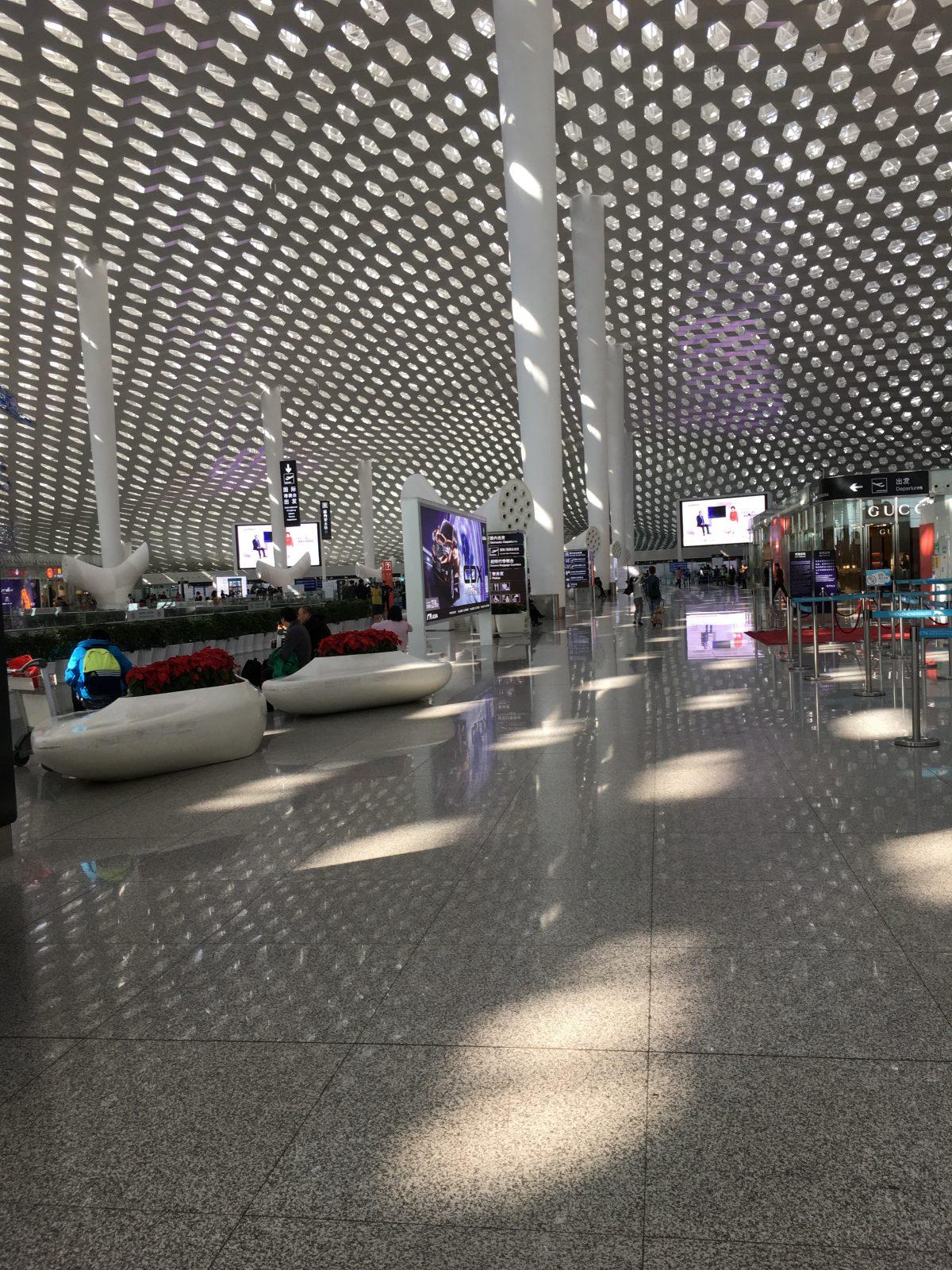 深圳宝安机场候