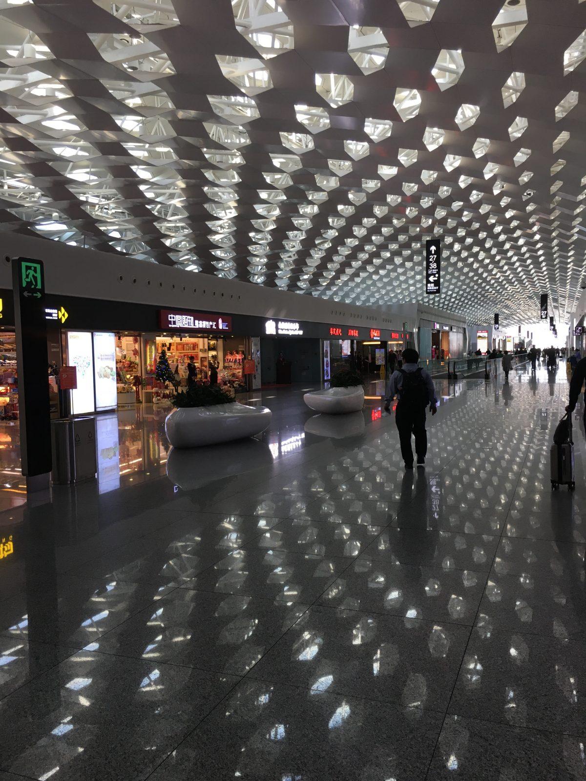 宝安机场候机厅