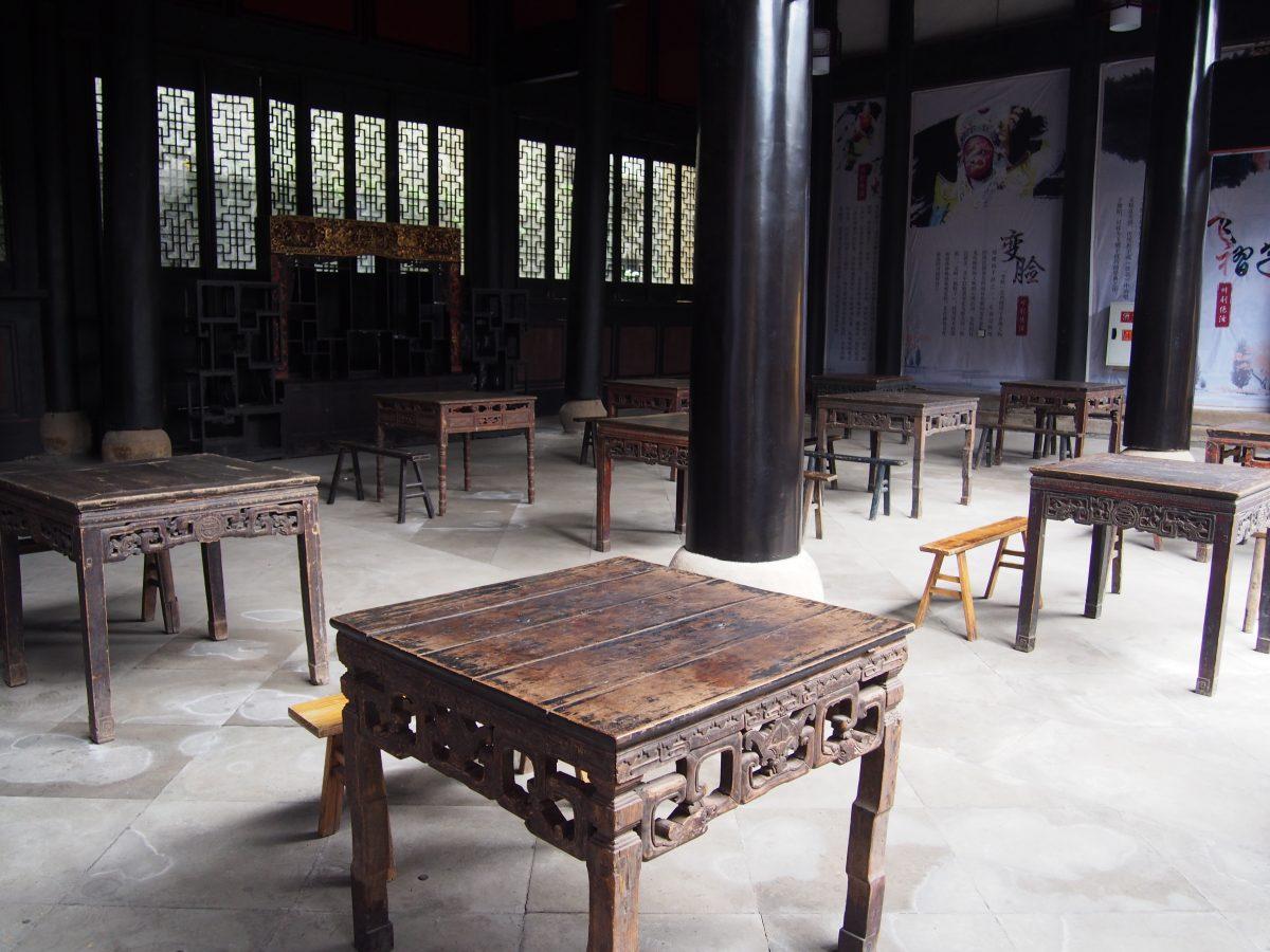 重庆湖广会馆看台