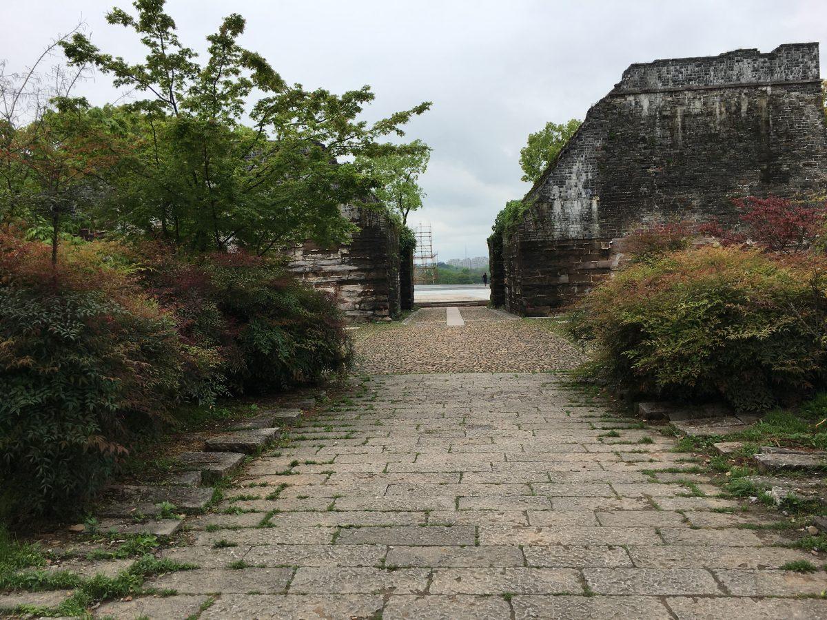 浙江衢州古城墙遗址
