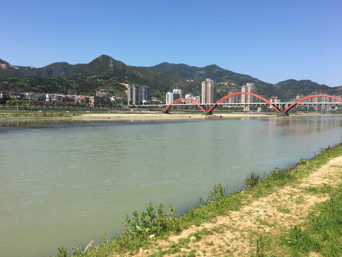 浙江丽水·瓯江青田城区段