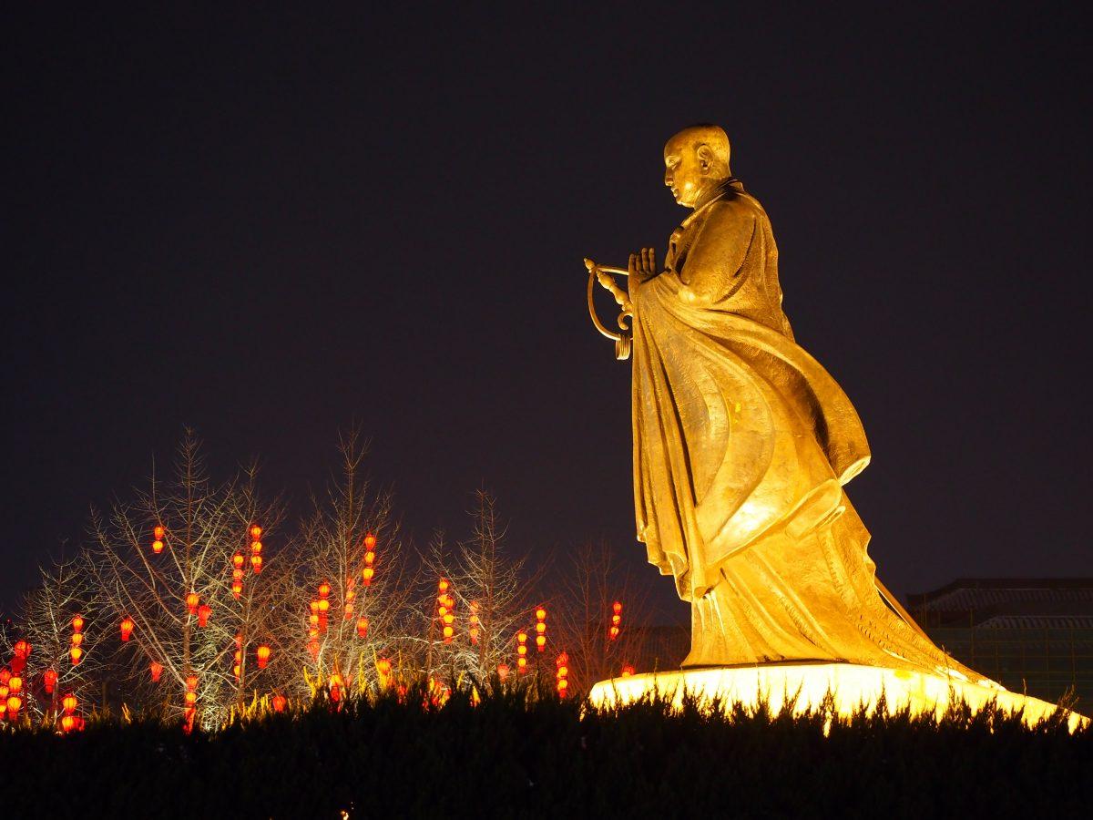 大慈恩寺·玄奘雕像
