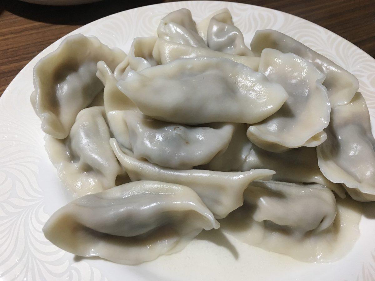 秋天·晚饭·饺子