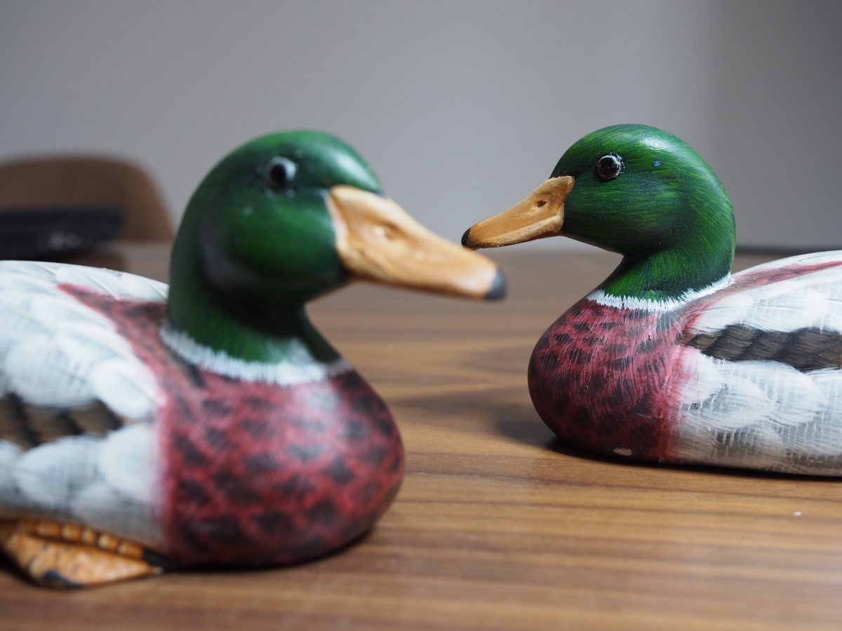 福建·工艺品·福州脱胎漆器·小动物·鸭子