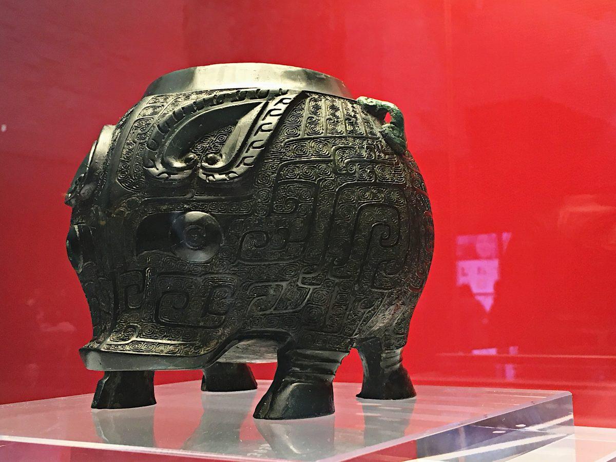 商代青铜器·猪卣