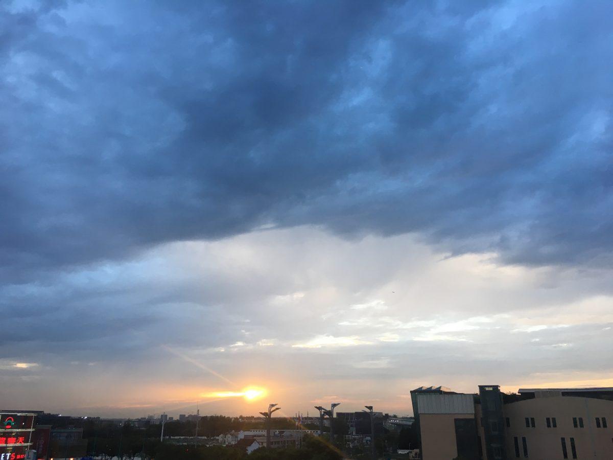天空·云·晚霞·彩云·阴云