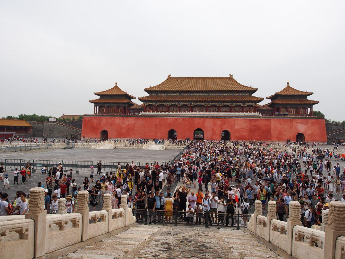 暑假·北京·故宫·午门